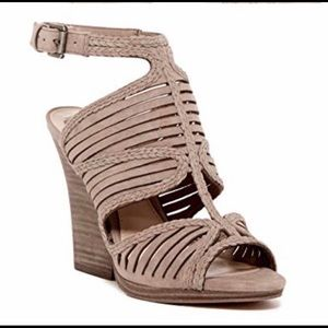 Vince Camuto Janil stacked wedge sandal